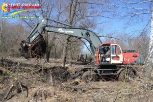 Экскаватор колесный Джониянг - JONYANG JYL161-3 б/у