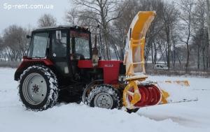 Снегометатель снегоочиститель шнекороторный | Снегоуборщик