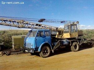 Автокран МАЗ 500