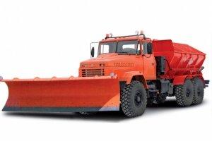 Комбинированная дорожная машина КрАЗ